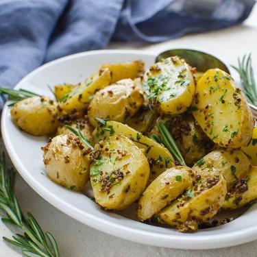 Rosemary-Mustard Potatoes Recipe | SideChef