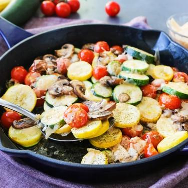Parmesan Vegetable Skillet Recipe   SideChef