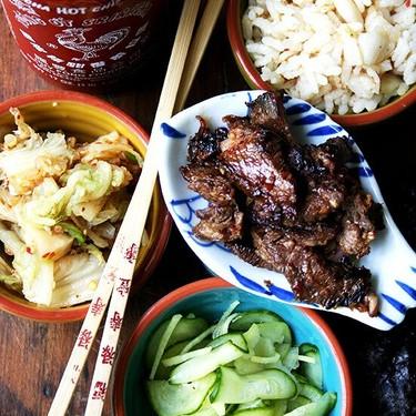 Steak Bulgogi with Cucumber-Apple Pickles Recipe | SideChef