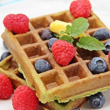 Gluten-Free Pandan Waffles Recipe   SideChef