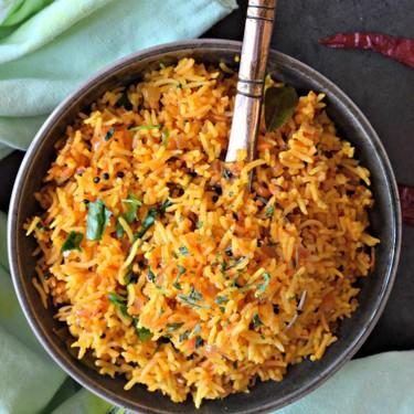 South Indian Style Tomato Rice Recipe | SideChef
