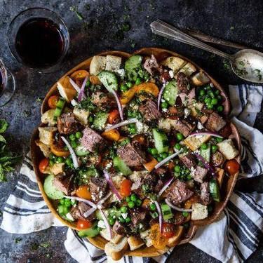 Lamb Za'atar Panzanella Salad Recipe   SideChef