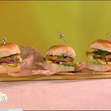 Grilled Sweet Chili Ranch Chicken Sliders Recipe | SideChef