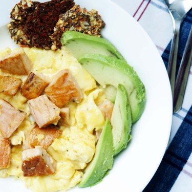 Salmon & Scrambled Eggs Recipe | SideChef