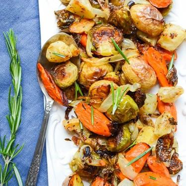 Roasted Winter Vegetables Recipe | SideChef