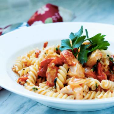 Creamy Salmon Pasta Recipe   SideChef