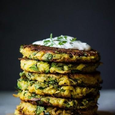Kohlrabi Fritters Recipe   SideChef