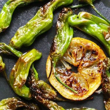 Blistered Shishito Peppers Recipe   SideChef