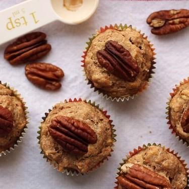 Maple Pecan Banana Mini Muffins Recipe | SideChef