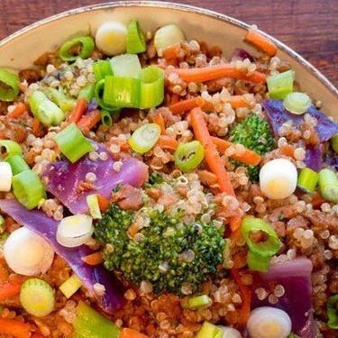 Vegan Beef Quinoa Bowl Recipe   SideChef
