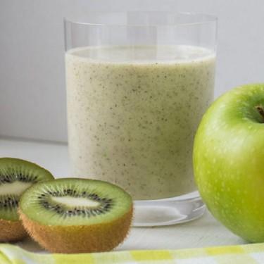 Apple, Kiwi, and Chia Seed Smoothie Recipe   SideChef