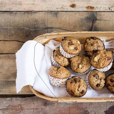Cacao Chip Banana Muffins Recipe | SideChef