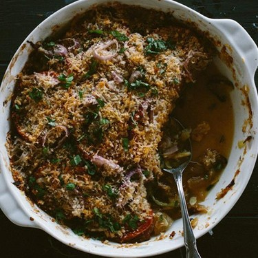 Summer Vegetable Gratin Recipe   SideChef