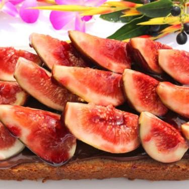 Banana Walnut Cake with Figs, Raspberry Jam and Nutella Recipe   SideChef