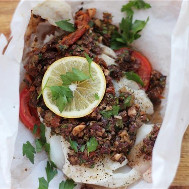 Cod en Papillote with Tapenade Recipe | SideChef