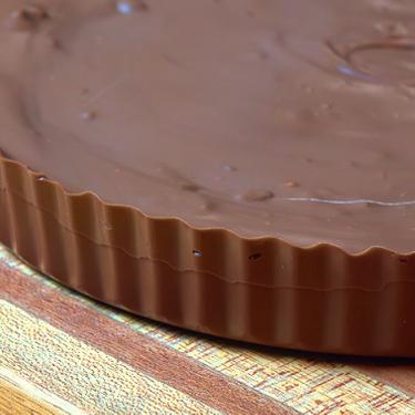 Giant Chocolate Peanut Butter Cup Recipe   SideChef