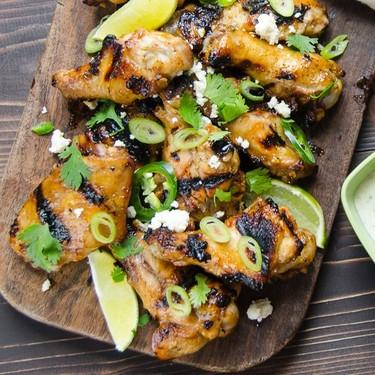 Hatch Chili Hot Wings Recipe   SideChef