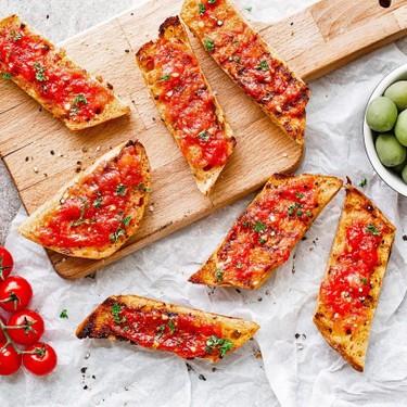 Spanish Toast with Tomato (Pan con Tomate) Recipe   SideChef