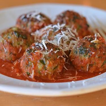 Turkey, Spinach & Cheese Meatballs Recipe | SideChef