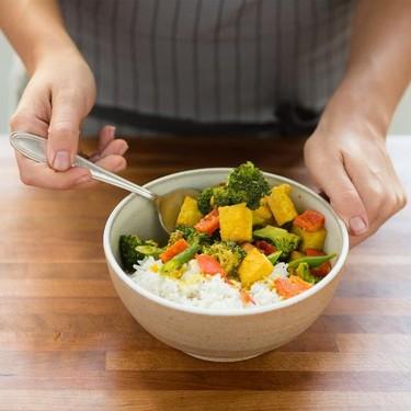 Vegetable Tofu Coconut Curry Recipe   SideChef