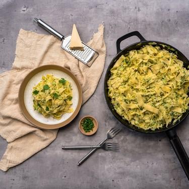 Weeknight Zucchini Lemon Alfredo Recipe | SideChef