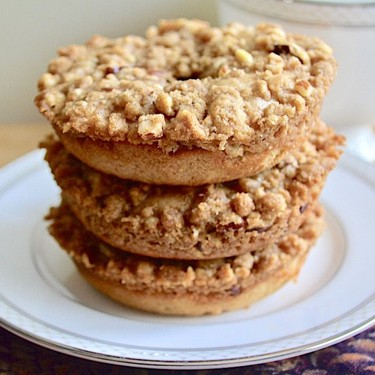 Cinnamon Buttermilk Crumb Donuts Recipe   SideChef