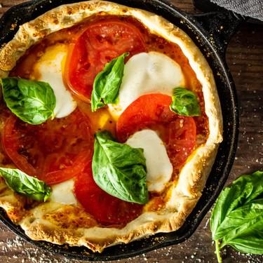 Cast Iron Pan Pizza Recipe | SideChef