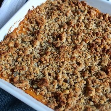 Savory Sweet Potato Crumble Recipe | SideChef