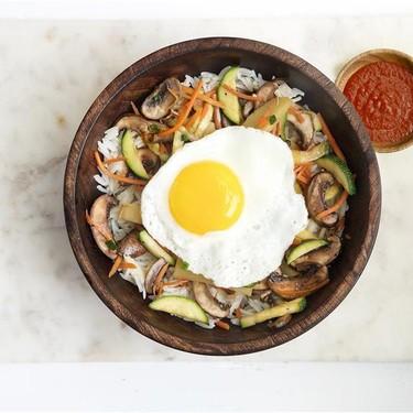 Vegetarian Bibimbap with Basmati Rice Recipe   SideChef