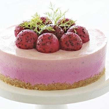 Red Dragon Fruit Cheesecake Recipe   SideChef