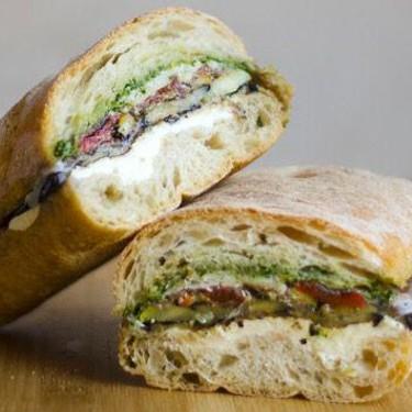 Pressed Eggplant Sandwich Recipe | SideChef