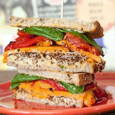 Mediterranean Veggie Sandwich Recipe | SideChef