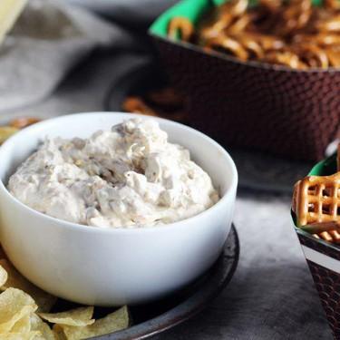 Sour Cream + Cheddar French Onion Dip Recipe | SideChef
