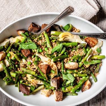 Fresh Spring Green Salad Recipe | SideChef