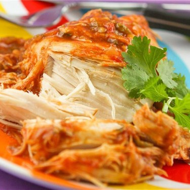 Slow Cooker Cilantro Lime Chicken Recipe | SideChef