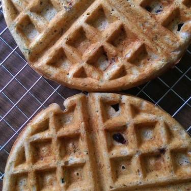 Zucchini and Blueberry Waffles Recipe | SideChef