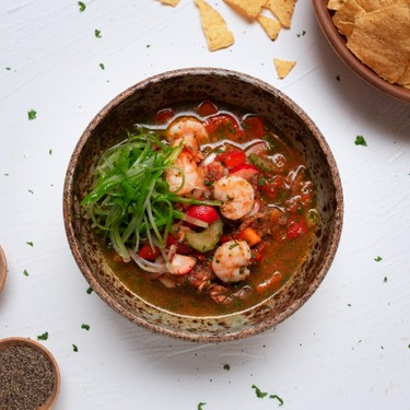 Ecuadorian Shrimp Ceviche Recipe | SideChef