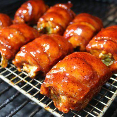 Bacon Wrapped Jalapeño Chicken Thighs Recipe | SideChef