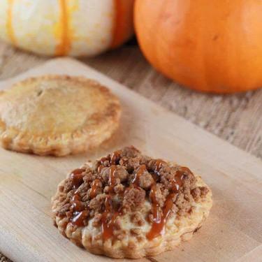 Pumpkin Hand Pies with Pecan Streusel Recipe   SideChef