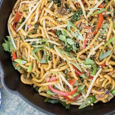 Stir-fried Udon Noodles Recipe | SideChef