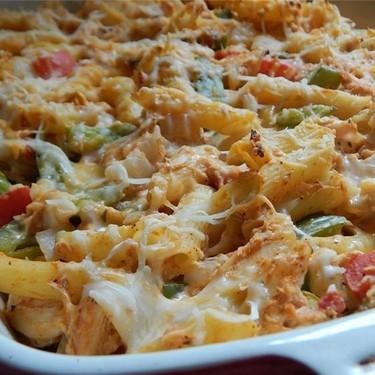 Chicken Fajita Pasta Bake Recipe | SideChef