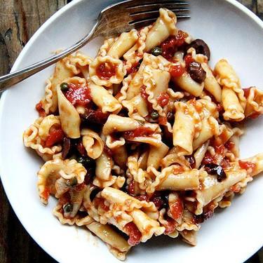 Basic Puttanesca Recipe | SideChef
