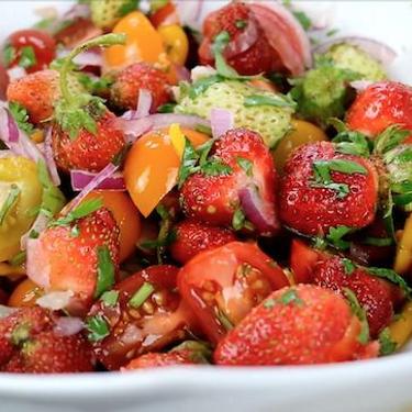 Strawberry Chow Salad Recipe   SideChef
