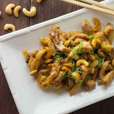 Chicken with Cashew Nuts Recipe   SideChef