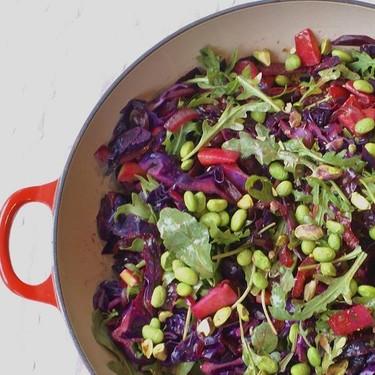 Warm Purple Power Salad Recipe   SideChef