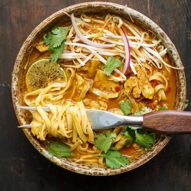 Chicken Khao Soi Recipe | SideChef