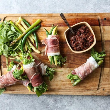 Twigs in a Blanket with Sundried Tomato Pesto Recipe | SideChef