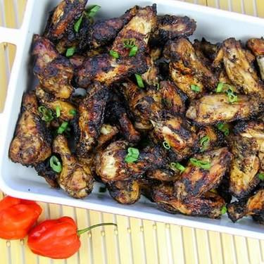 Grilled Jerk Chicken Wings Recipe   SideChef