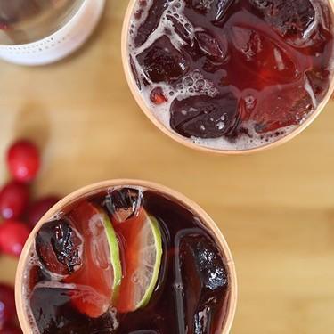 Cranberry and Pomegranate Mule Recipe | SideChef