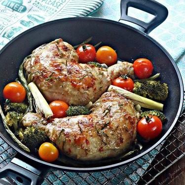 Lemongrass Baked Chicken Recipe   SideChef